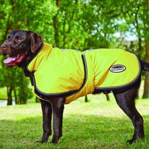 WeatherBeeta Reflective Parka 300D Deluxe Lite Dog Coat