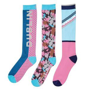 Dublin Rosemary 3 Pack Socks