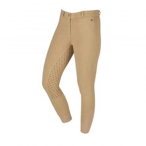 Dublin Supa-Fit Zip Up Gel Full Seat Breeches