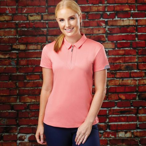 Dublin Columba Short Sleeve Tech Polo