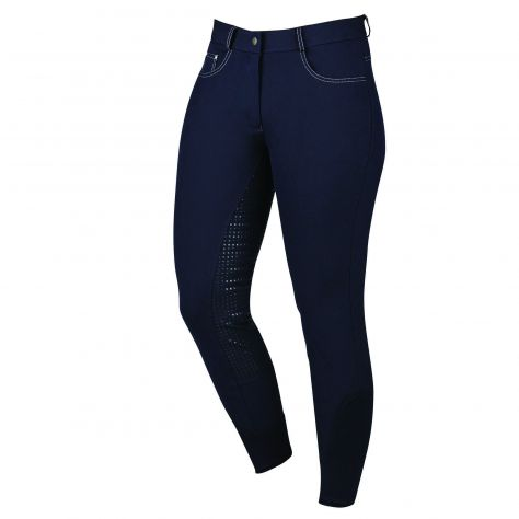 Dublin Jet Gel Full Seat Breeches
