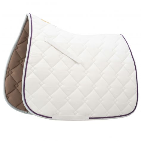 Roma Ecole Double Diamond Quilt Dressage Saddle Pad