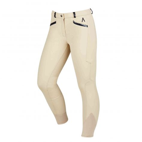 Dublin Black Linda Soft Shell Thermal Full Seat Breeches