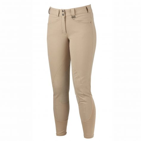 Dublin Performance Slender Euro Seat Front Zip Breeches