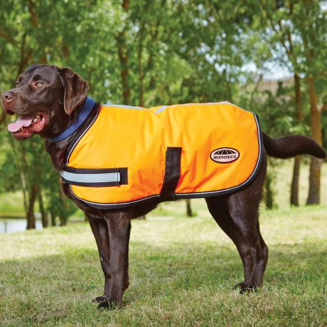 WeatherBeeta ComFiTec Reflective Parka 300D Dog Coat