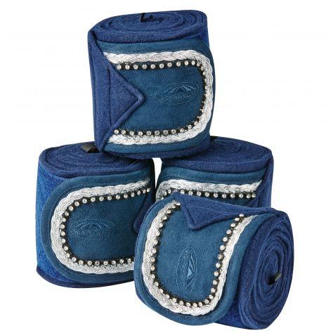 WeatherBeeta Fleece Bling Bandage 4 Pack