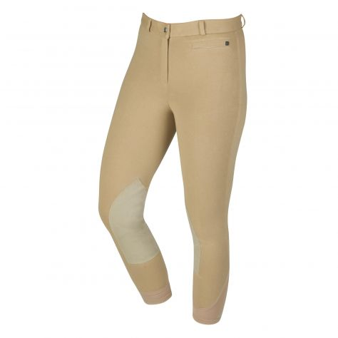 Dublin Supa-Fit Zip Up Suede Knee Patch Breeches