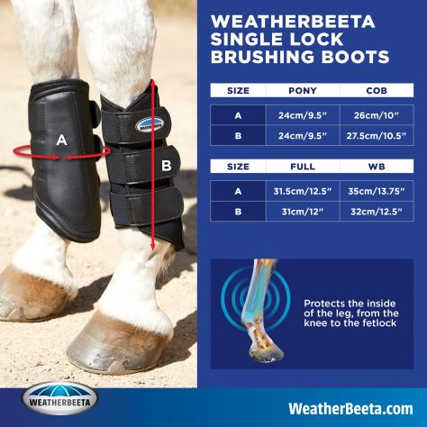 WeatherBeeta Single Lock Brushing Boots