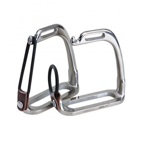 Korsteel Stainless Steel Peacock Stirrup Irons