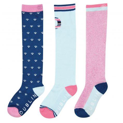 Dublin Ethel 3 Pack Socks