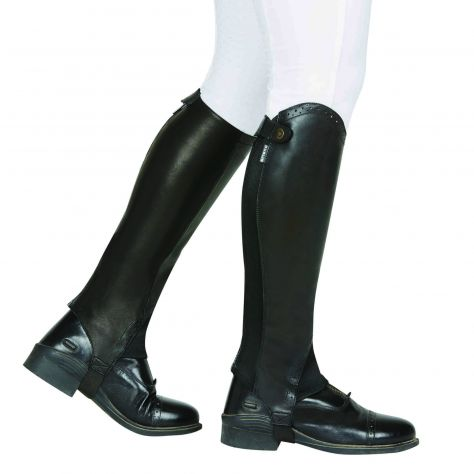 Dublin Evolution Rear Zip Half Chaps