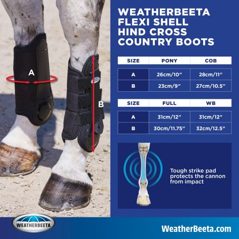 WeatherBeeta Flexi Shell Hind Cross Country Boots