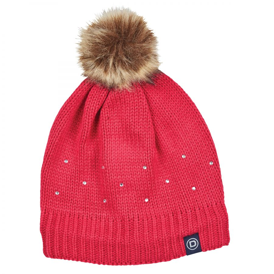 Dublin Womens Sparkle Bobble Beanie Lake