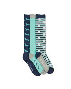 Dublin Dog Socks Pack