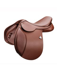 Bates Caprilli Close Contact Saddle with Extended Flap D-Ring & Cair