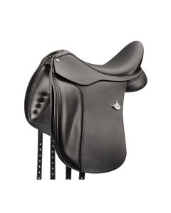 Bates Dressage Plus Saddle with Adjustable Bars & Cair III