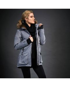 Dublin Black Wendy Waterproof Jacket