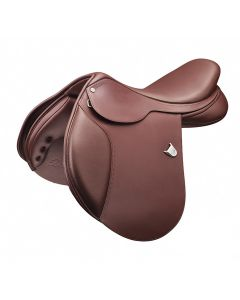 Bates Caprilli Close Contact Saddle with D-Ring & Cair