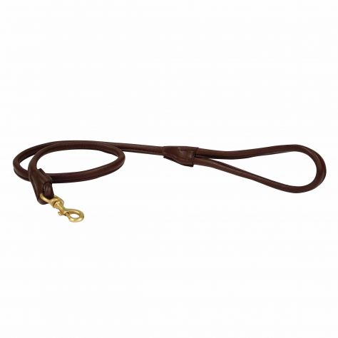 WeatherBeeta Rolled Leather Dog Lead