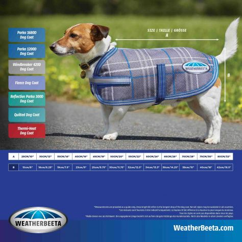 WeatherBeeta ComFiTec Fleece Dog Coat