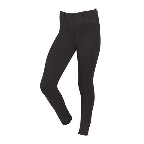 Dublin Supa-Fit Pull On Knee Patch Breeches