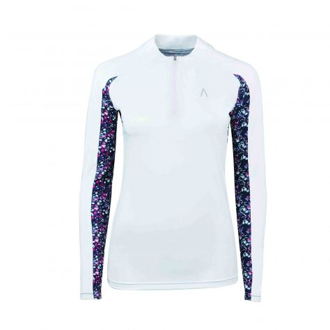Dublin Black Alegra Print Long Sleeve Competition Top II