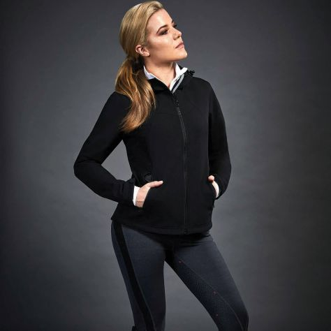 Dublin Black Sam Soft Shell Jacket