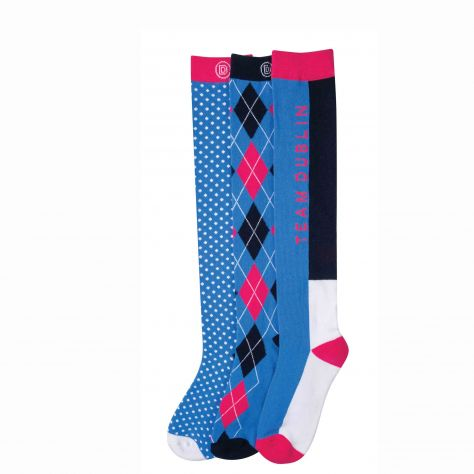 Dublin Mandy 3 Pack Socks