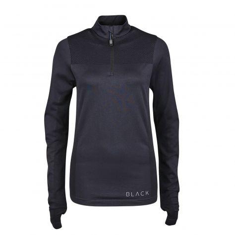 Dublin Black Jenny Half Zip Competition Shirt