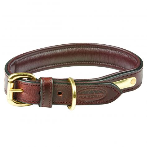 WeatherBeeta Padded Leather Dog Collar