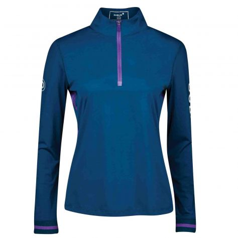 Dublin Shirley 1/4 Zip Airflow Long Sleeve Top