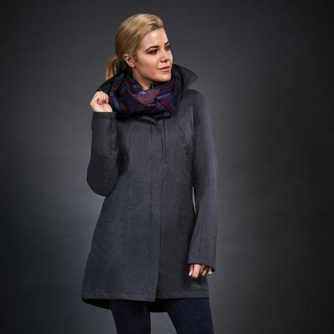 Dublin Black Ellie Waterproof Jacket