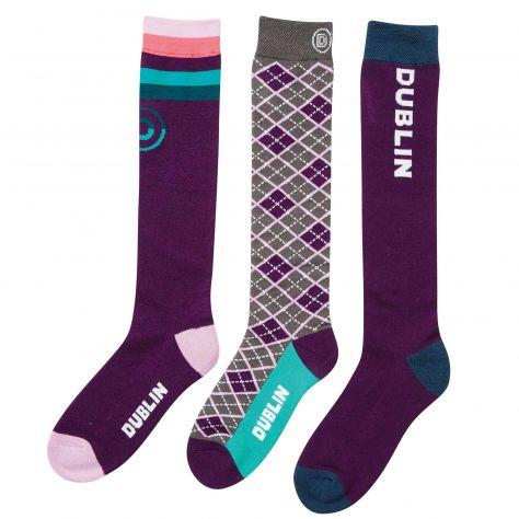 Dublin 3 Pack Socks