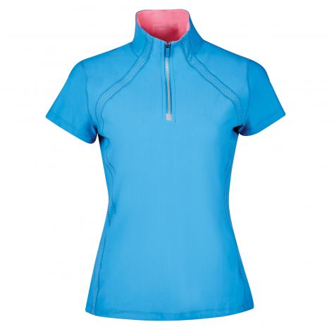 Dublin Maddison Short Sleeve Technical Airflow 1/4 Zip Top