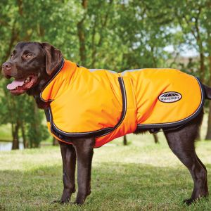 WeatherBeeta ComFiTec Reflective Parka 300D Deluxe Dog Coat