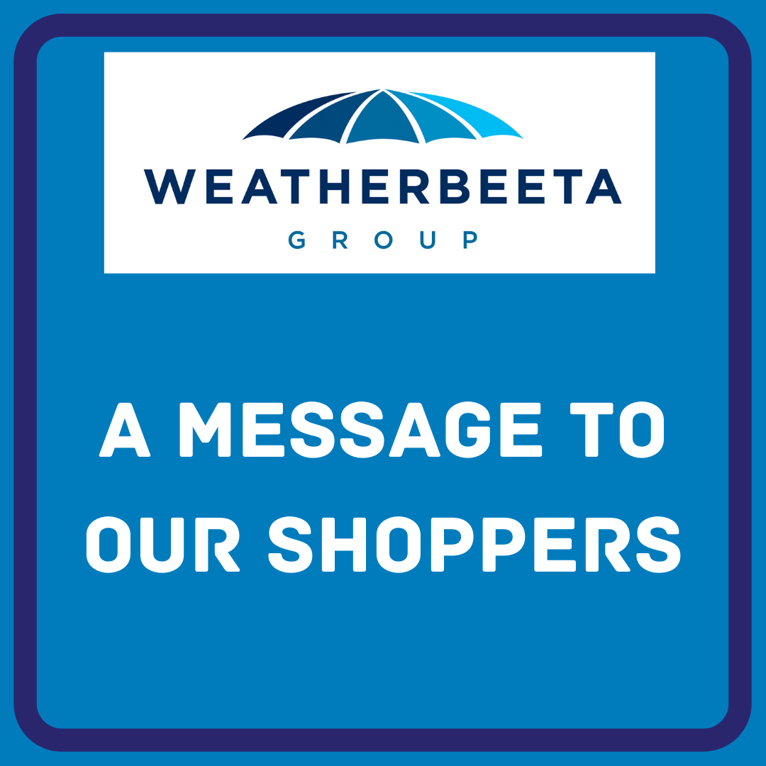 31st March: Message to our online shoppers across North America & EMEA