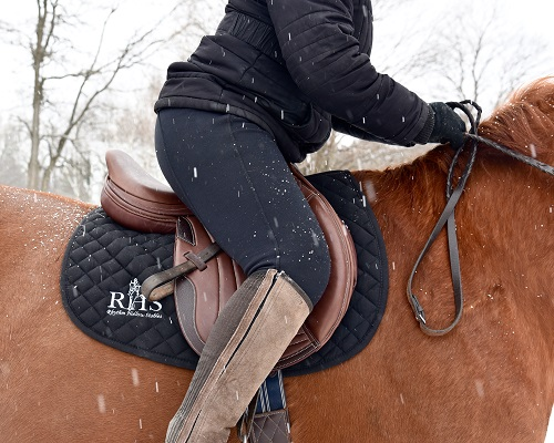 Collegiate Saddlery created a winner in the new Triumph Jump Saddle