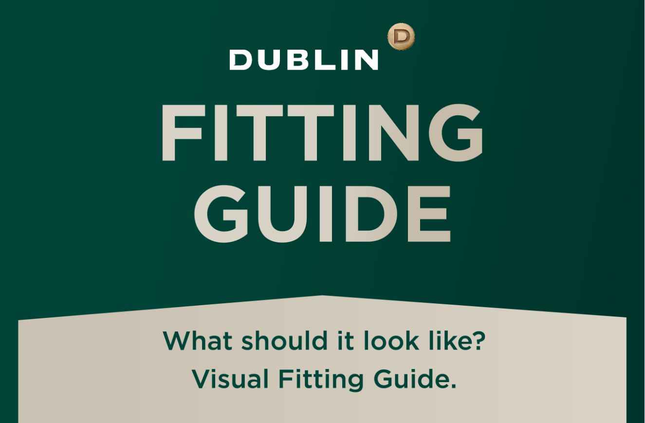 Helmet Fitting Guide by Dublin