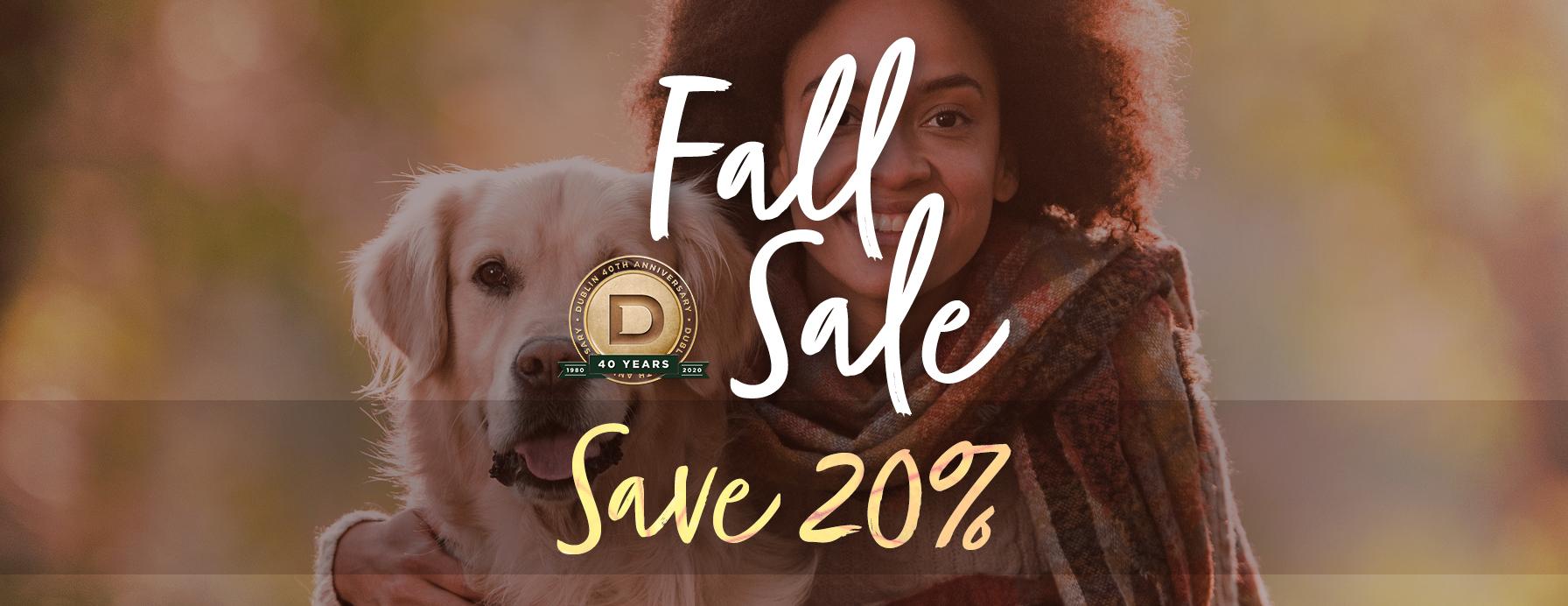 Shop the Dublin Fall Sale