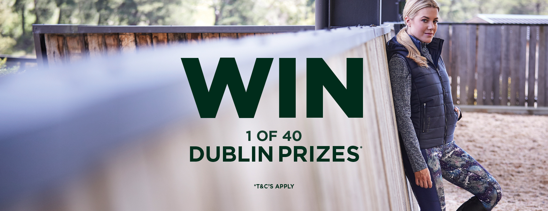 Enter to Win 1 of 40 Dublin Prizes