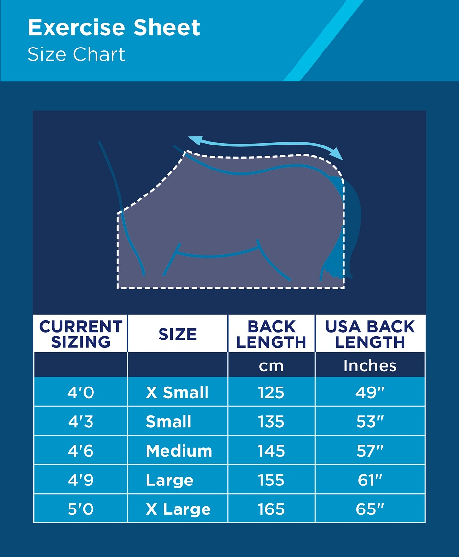 Quarter Sheet Size Chart