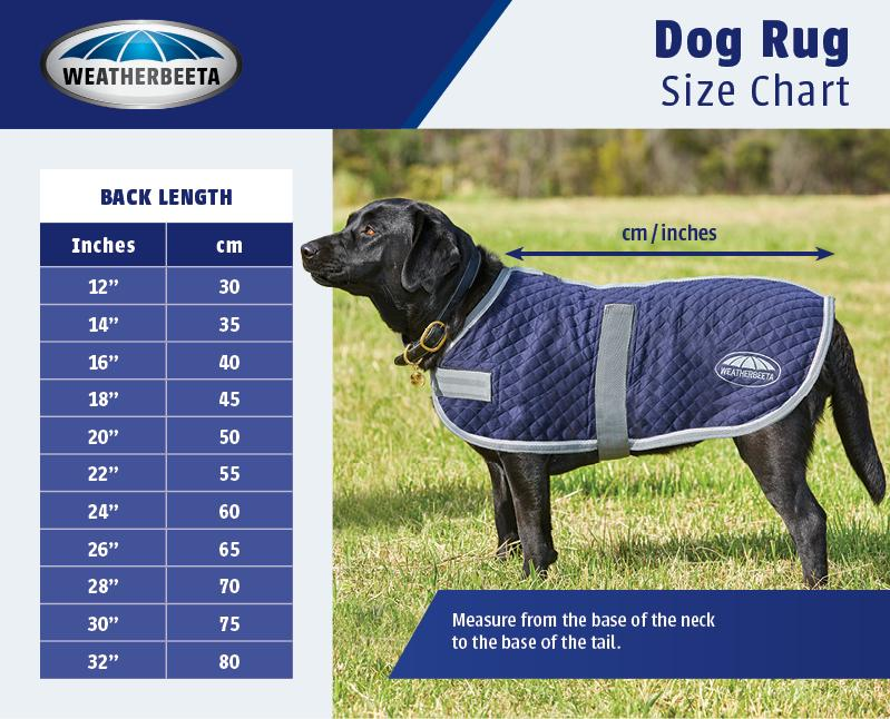 Dog Coat Size Guide