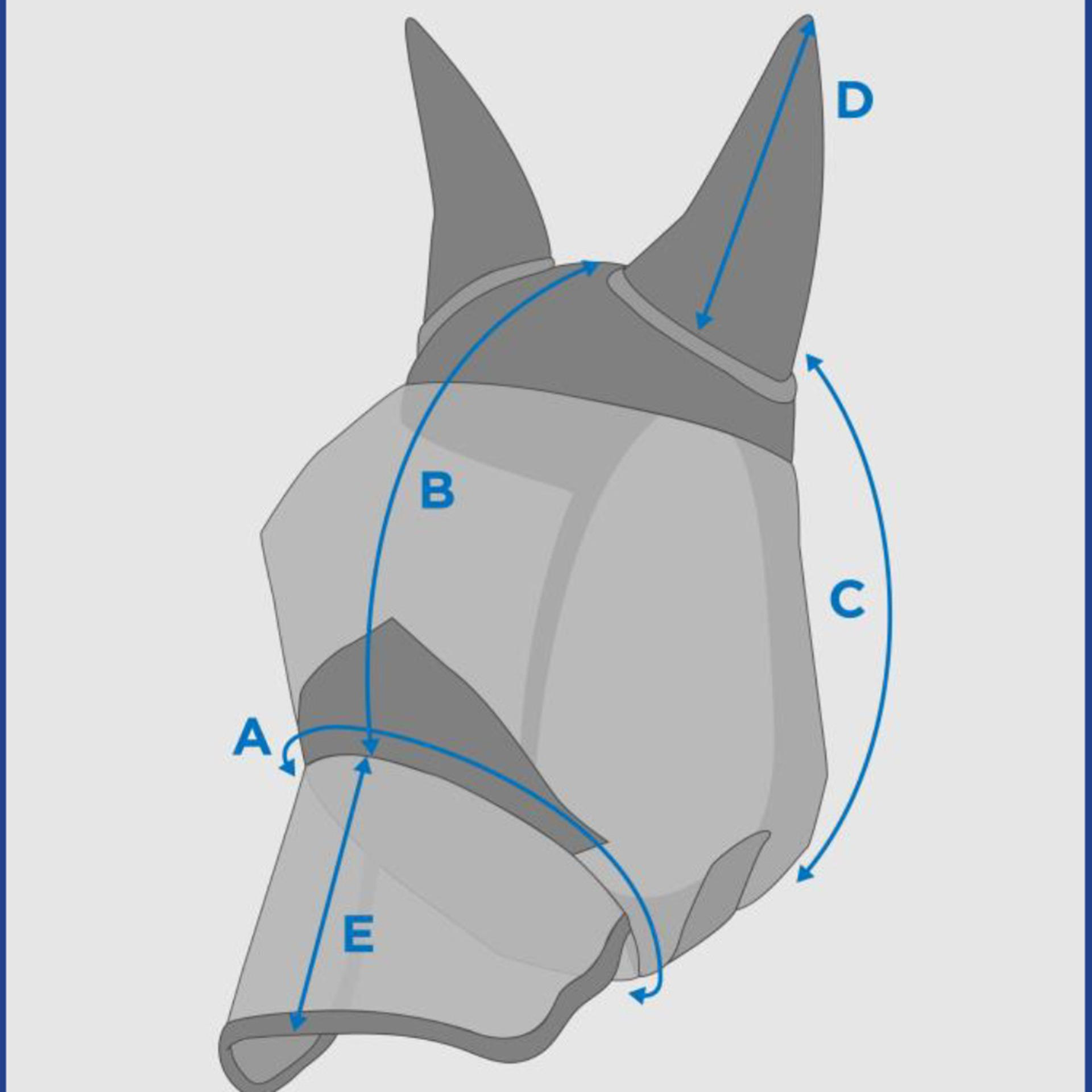 mesh ears&nose