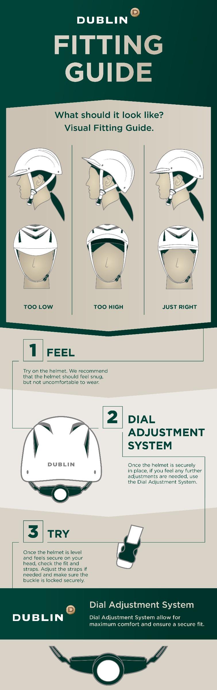 Helmet Fitting Guide by Dublin